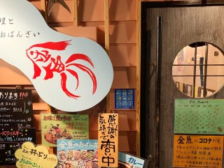 金魚エチケットシー全景_